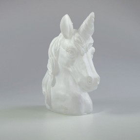 Unicorn Candle - White