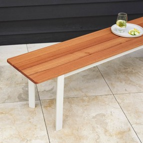 Arc Outdoor Bench