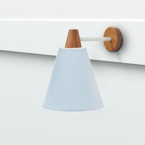 Wall Light - Matt Pale Blue