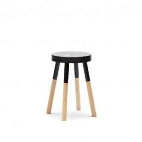 Y Stool 470mm by Tim Webber Design - Black