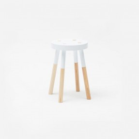 Y Stool 470mm by Tim Webber Design - White