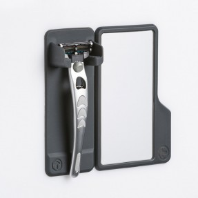 Mighty Razor Holder with Mirror by Tooletries