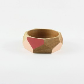 Bangle Red + Peach