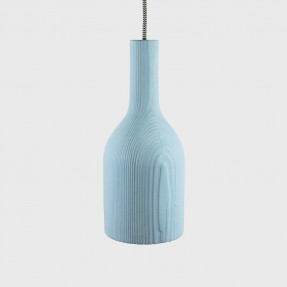 Raw Lamps Coloured Blue