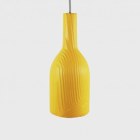 Raw Lamps Coloured Yellow