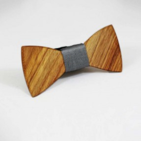 The Classic Wooden Bowtie