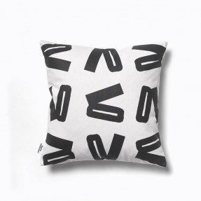 Snap Black & White Cushion Small