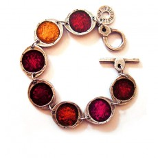 Paint Box Bracelet Red Pink