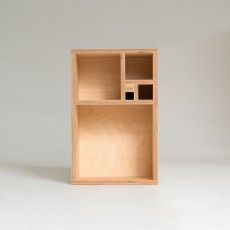 Golden Shelving Unit