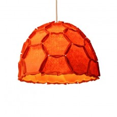 Nectar Half Lampshade Orange