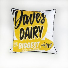 Daves Dairy Cushion WAS $69