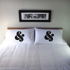 Pillowcase Ampersand