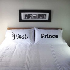 Pillowcase Set Princess & Prince / Frog