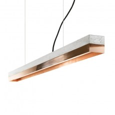 [C1] Pendant Light Concrete & Copper