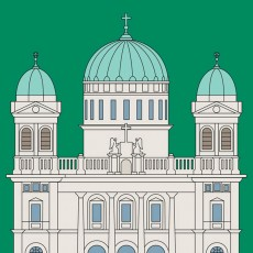 Cathedral of the Blessed Sacrament Print