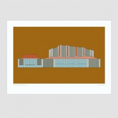 Christchurch Town Hall Print