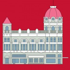 Regent Theatre Building Graphic Print