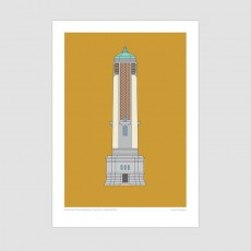 Wellington War Memorial Carillon Print