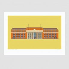 Wellington Railway Station Print