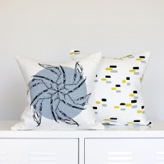 Harakeke Cushion Cover in Duck Egg