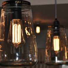 Caret Squirrel Cage Lamp