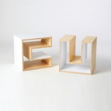 Cube (Table, Stool, Shelf) - White