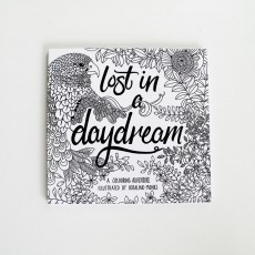 Lost in a daydream Colouring Book