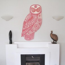 Red Owl on Plywood