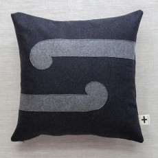 'E rua nga koru' Trade Cushion
