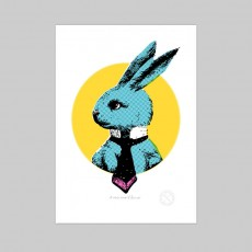 A Very Smart Blue Bunny