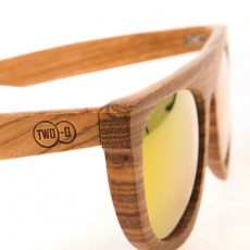 Wooden Sunglasses Brano Sunset
