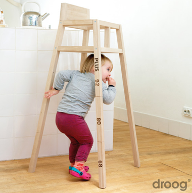 Furniture that grows with a child